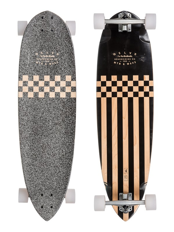 "0 Demi Bu US 36"" Soul Surfing Longboard Complete Brown EGLSDMBUS Quiksilver"