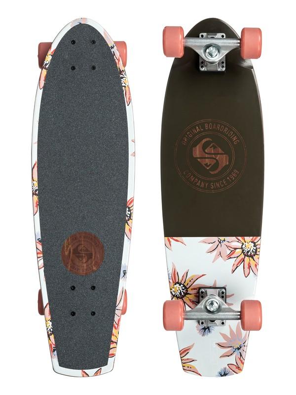 0 Springtime Skateboard Complete Grey EGLSPRINGT Quiksilver