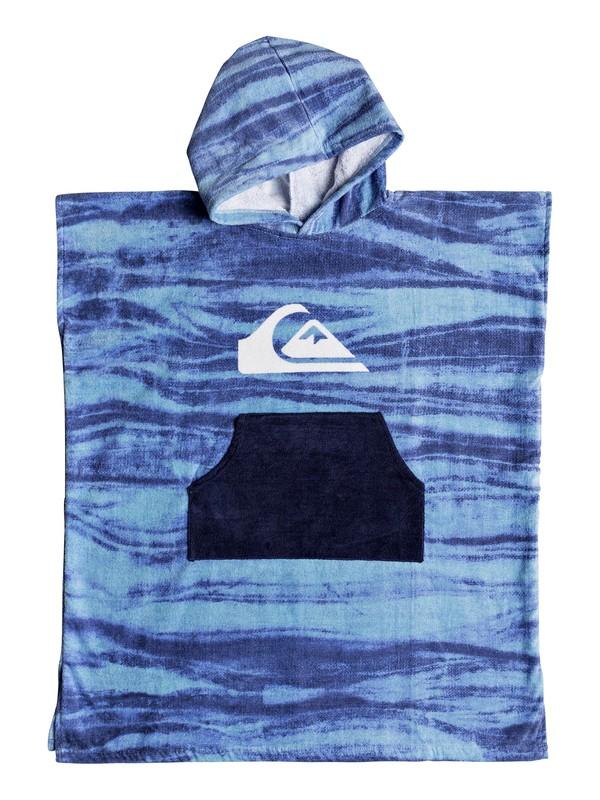 0 Hoody Surf Poncho Blue EQBAA03060 Quiksilver