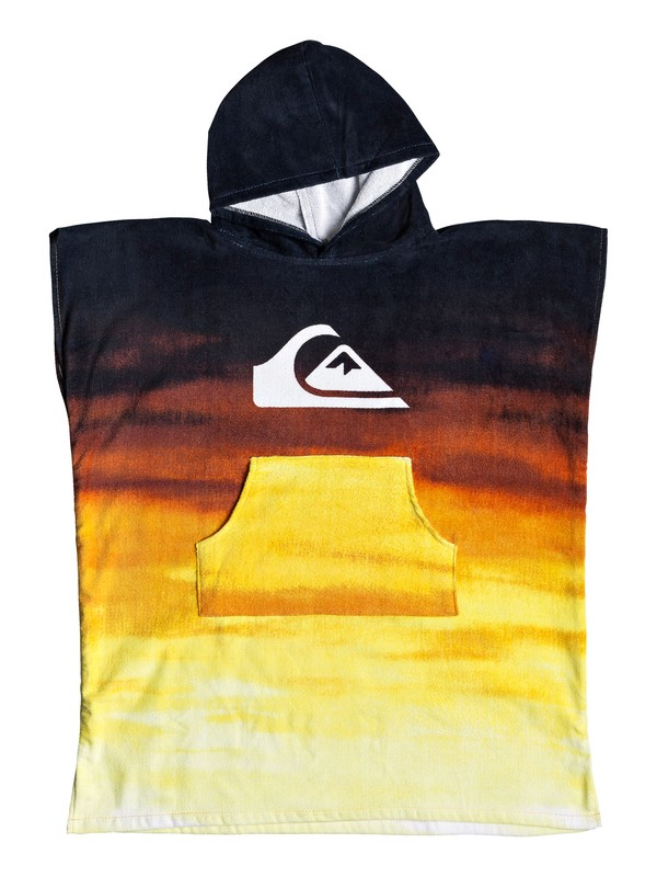 0 Hoody Surf Poncho Orange EQBAA03060 Quiksilver