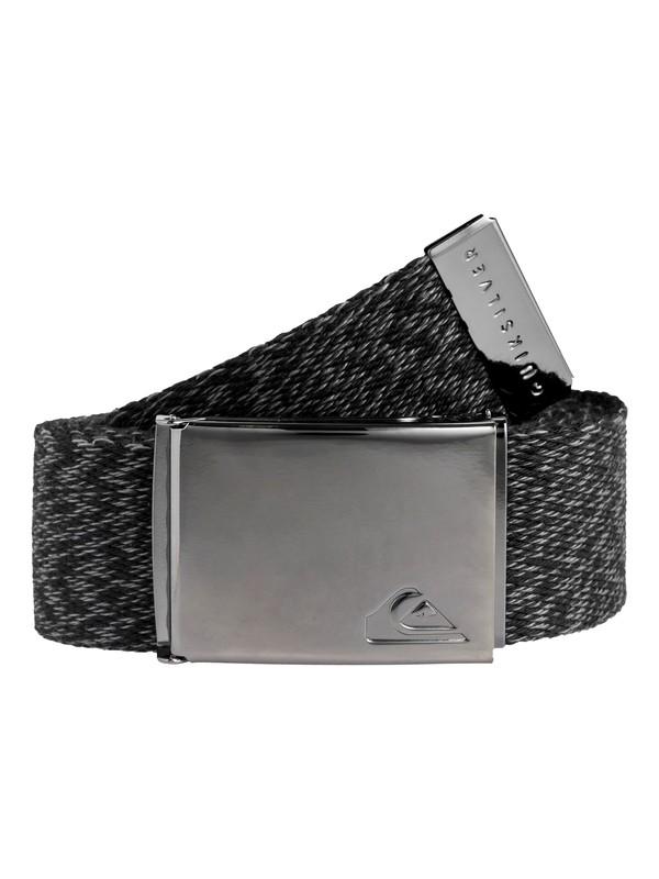 0 Boy's 8-16 The Jam Reversible Webbing Belt Black EQBAA03064 Quiksilver