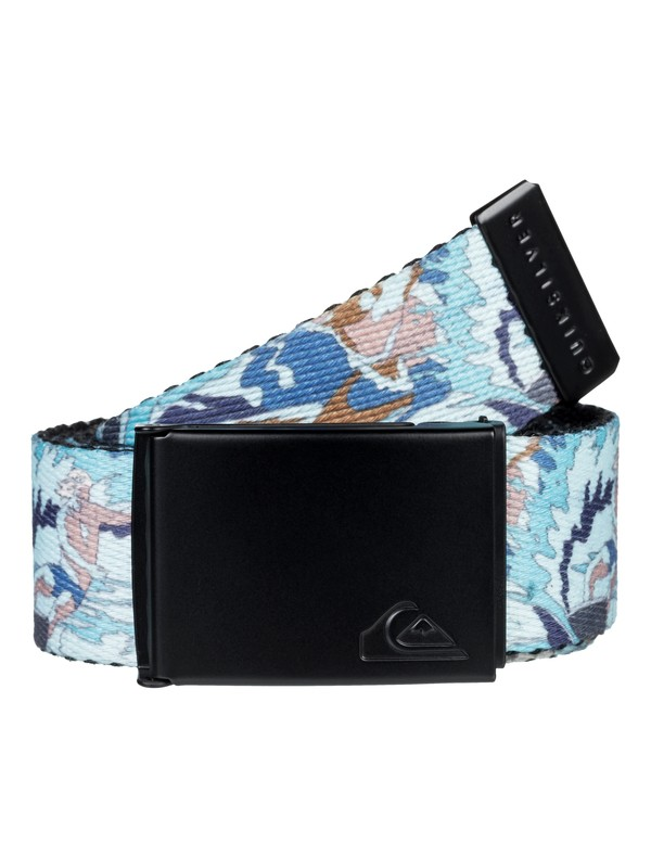 0 Boy's 8-16 The Jam Reversible Webbing Belt Black EQBAA03065 Quiksilver