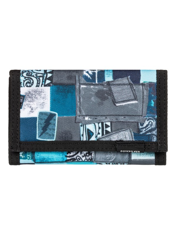 0 The Everydaily - Tri-Fold Wallet Blue EQBAA03067 Quiksilver