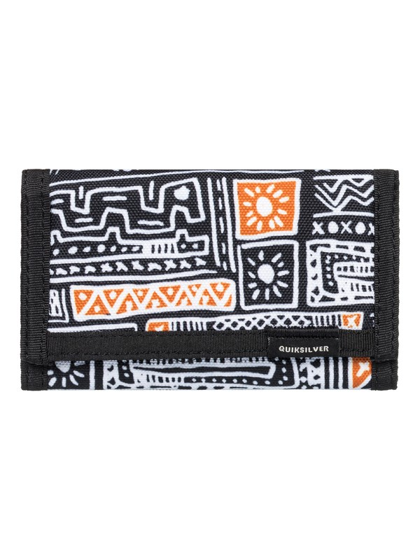 0 The Everydaily - Tri-Fold Wallet White EQBAA03067 Quiksilver