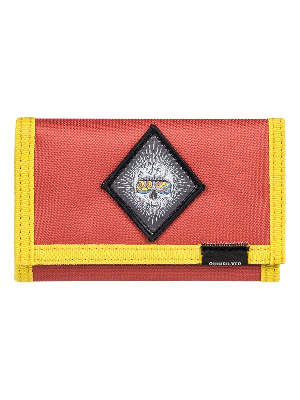 0 The Everydaily - Tri-Fold Wallet Pink EQBAA03068 Quiksilver