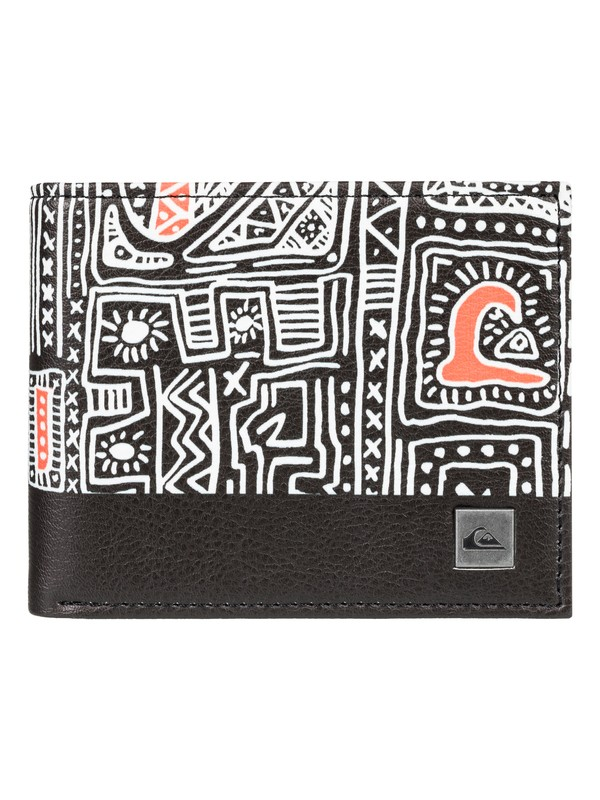 0 Freshness - Bi-Fold Leather Wallet White EQBAA03069 Quiksilver