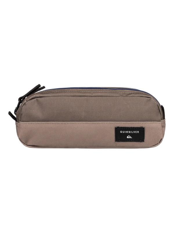0 Tasmen - Pencil Case Grey EQBAA03070 Quiksilver