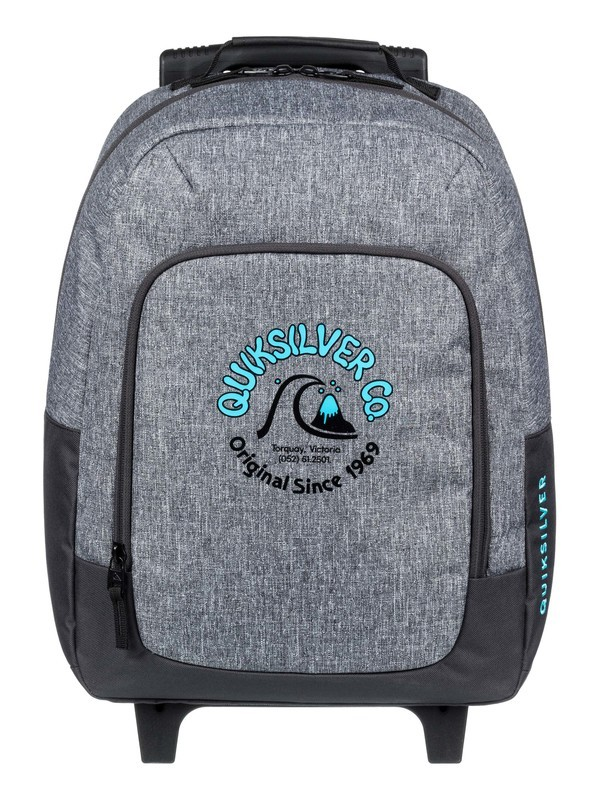 0 Wheelie Burst 26L - Wheeled Backpack Grey EQBBP03035 Quiksilver