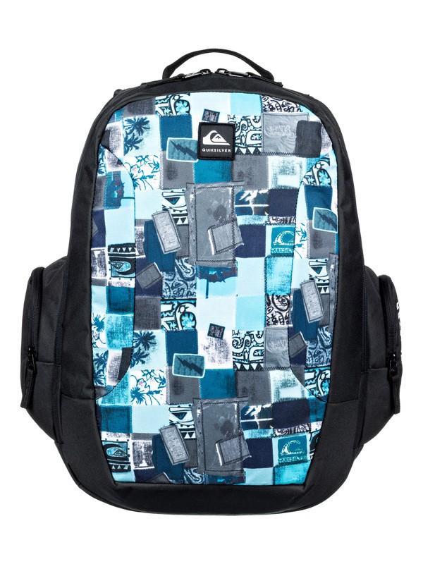 0 Schoolie 30L - Large Backpack Blue EQBBP03036 Quiksilver