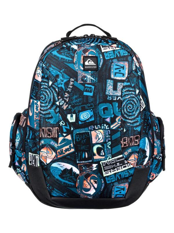 0 Schoolie 30L - Large Backpack Black EQBBP03036 Quiksilver
