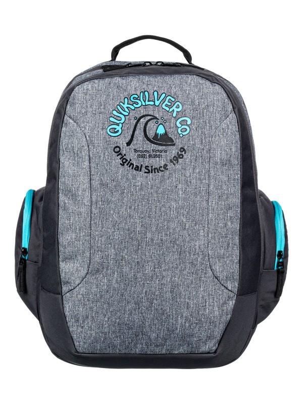 0 Schoolie 30L - Large Backpack Grey EQBBP03036 Quiksilver