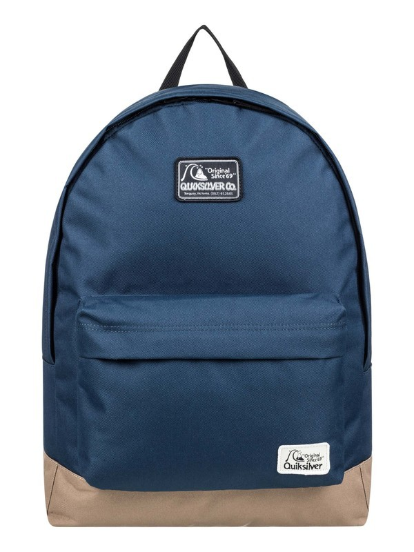0 Everyday Poster Patch 25L - Medium Backpack Blue EQBBP03038 Quiksilver