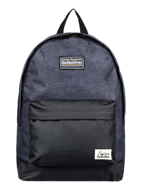 0 Everyday Poster Patch 25L - Medium Backpack Black EQBBP03038 Quiksilver