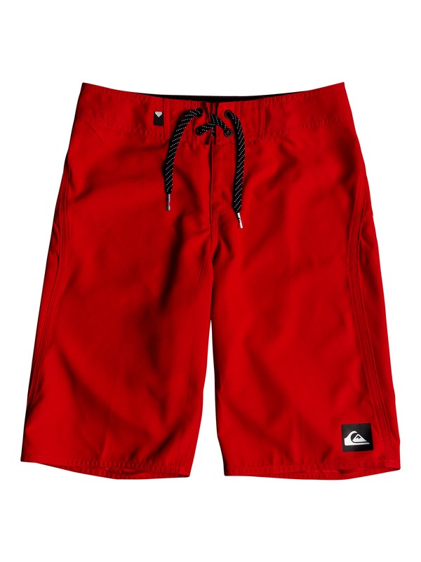 "0 Boy's 8-16 Highline Kaimana 19"" Boardshorts Red EQBBS03242 Quiksilver"