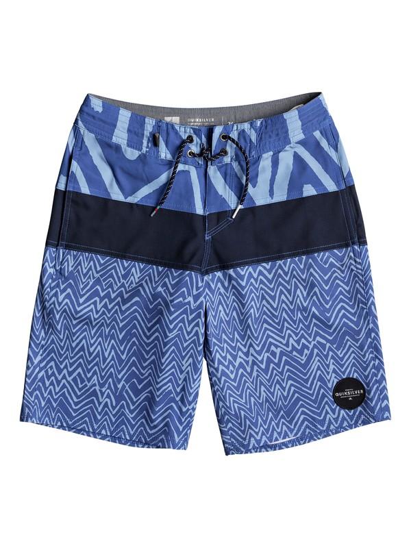 "0 Boy's 8-16 Techtonics 18"" Beachshorts  EQBBS03250 Quiksilver"