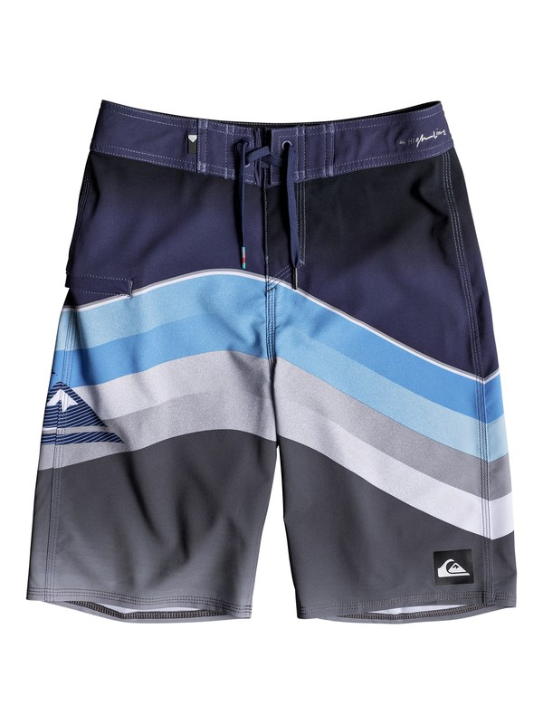 "0 Boy's 8-16 Highline Slab 19"" Boardshorts  EQBBS03316 Quiksilver"