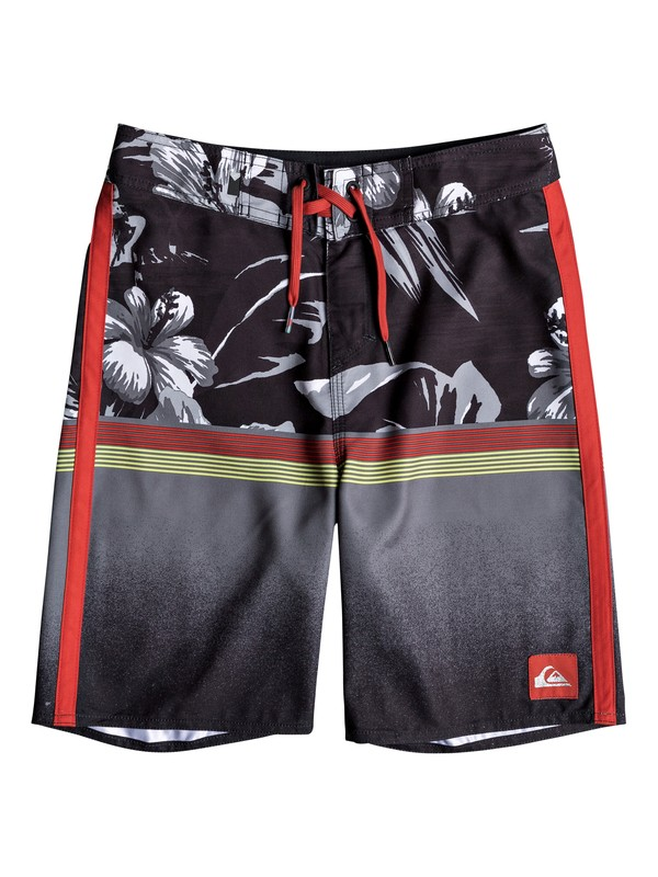 "0 Divide 18"" Boardshorts Negro EQBBS03322 Quiksilver"