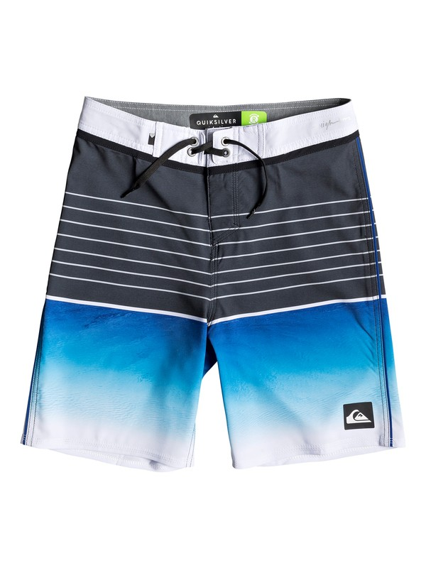 "0 Highline Slab 17"" - Board Shorts for Boys 8-16 Purple EQBBS03343 Quiksilver"