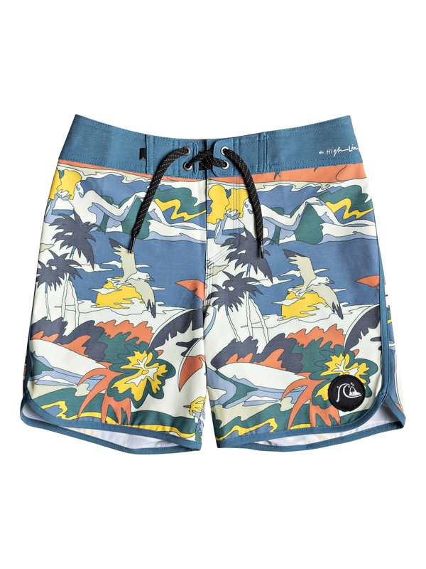 "0 Highline Feelin Fine 15"" - Boardshorts para Chicos 8-16 Azul EQBBS03352 Quiksilver"