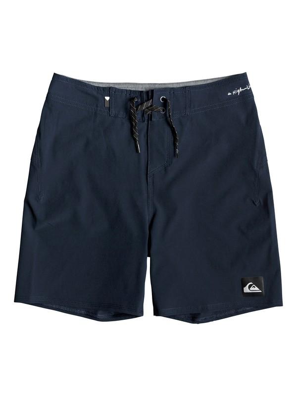 "0 Highline Kaimana 14"" - Board Shorts for Boys 8-16 Blue EQBBS03357 Quiksilver"