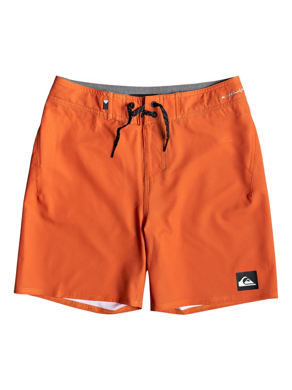 "0 Highline Kaimana 14"" - Board Shorts for Boys 8-16 Orange EQBBS03357 Quiksilver"