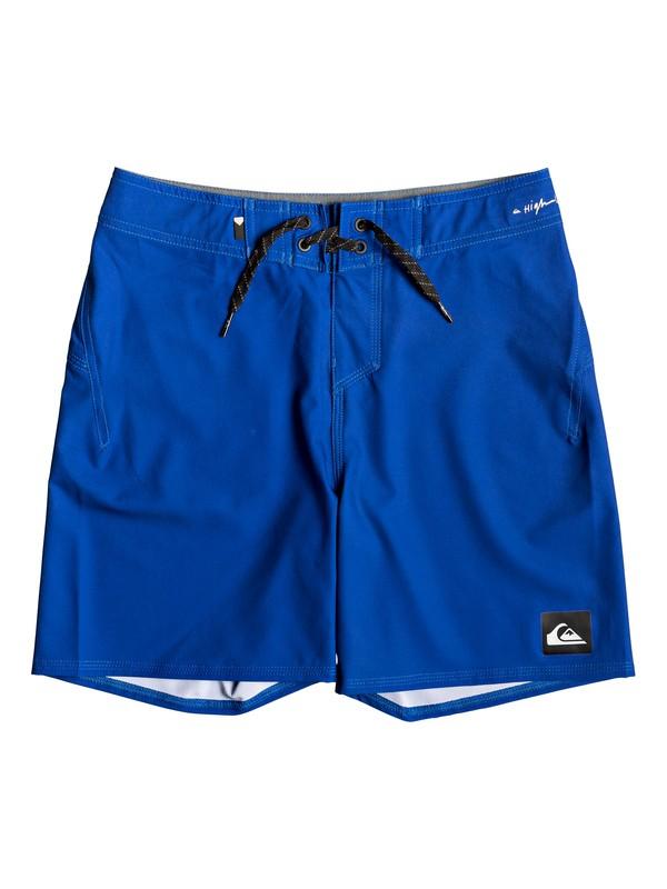 "0 Highline Kaimana 14"" - Board Shorts for Boys 8-16 Purple EQBBS03357 Quiksilver"