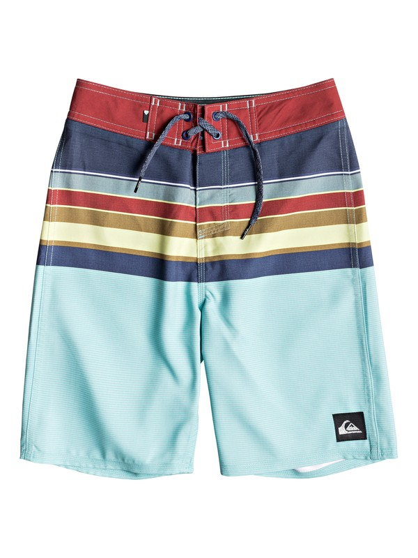 "0 Boy's 8-16 Everyday Sion 18"" Boardshorts Blue EQBBS03360 Quiksilver"