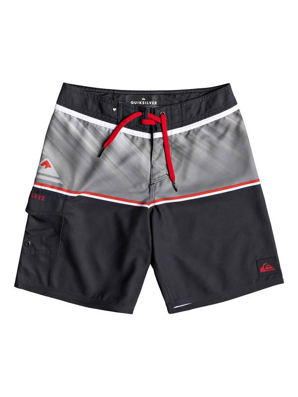 "0 Everyday Division 16"" - Board Shorts for Boys 8-16 Black EQBBS03362 Quiksilver"