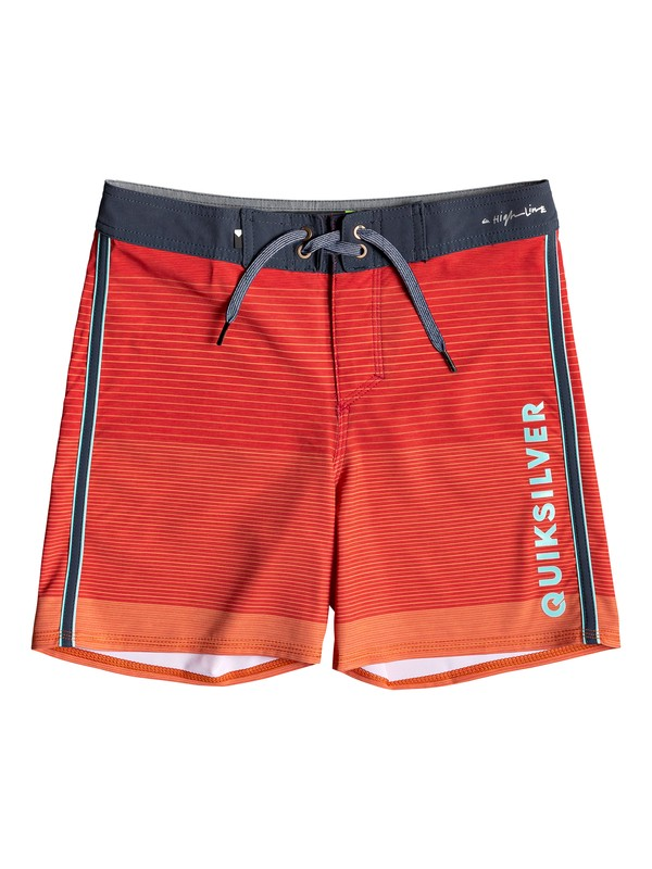 "0 Highline Massive 14"" - Board Shorts for Boys 8-16 Blue EQBBS03376 Quiksilver"