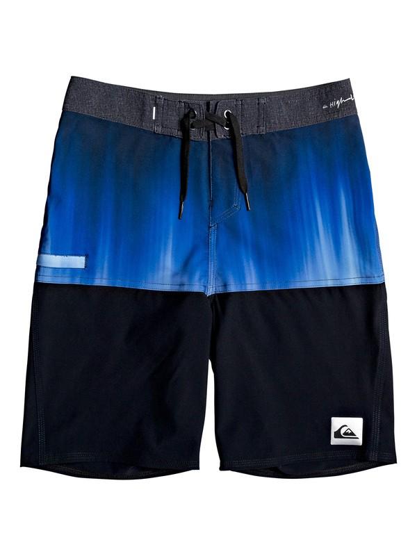 """0 Highline Division 18"""" - Board Shorts for Boys 8-16 Morado EQBBS03397 Quiksilver"""