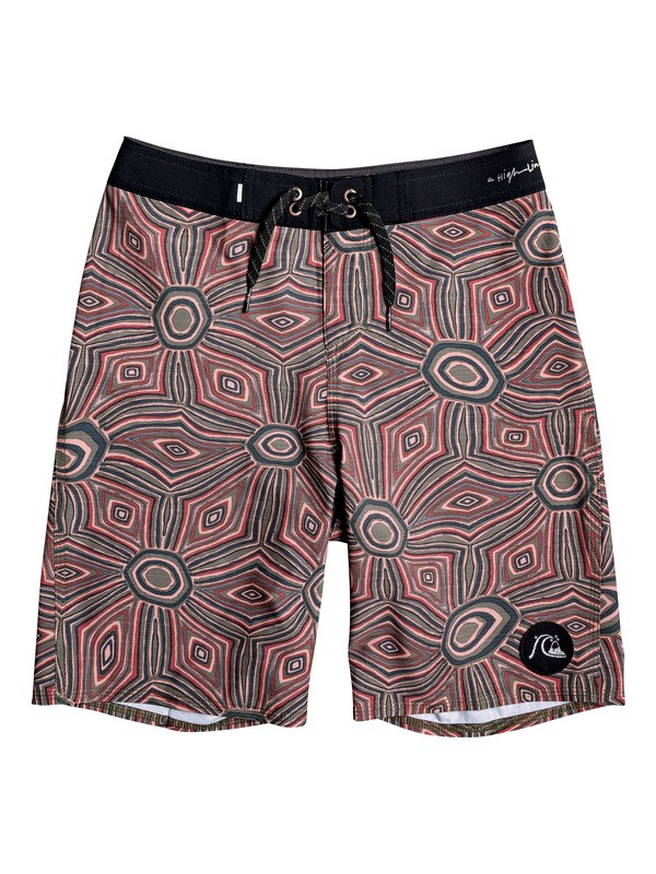 "0 Highline Tamarama 18"" - Board Shorts for Boys 8-16 Rojo EQBBS03414 Quiksilver"