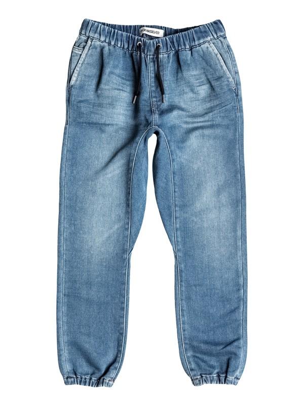 0 Fonic Denim Fleece - Jean coupe slim  EQBDP03087 Quiksilver