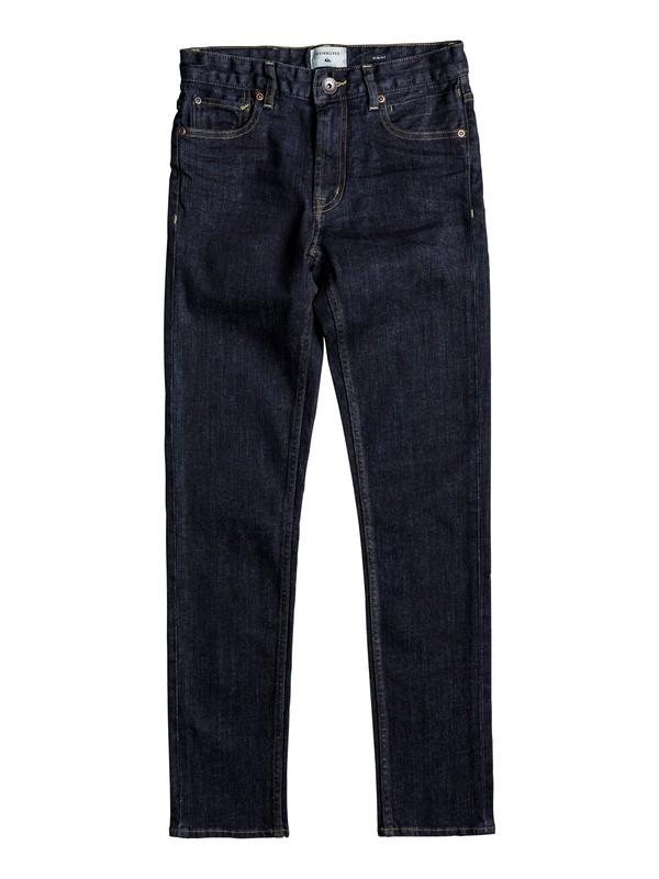 0 Distorsion Rinse - Slim Fit Jeans für Jungen 8-16 Blau EQBDP03134 Quiksilver