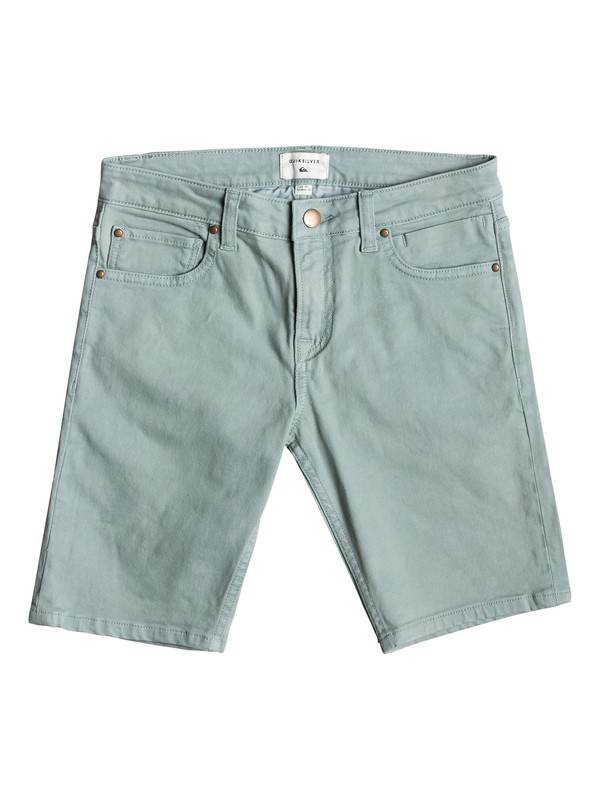 0 Distorsion Colours - Short Vaquero para Chicos 8-16 Azul EQBDS03058 Quiksilver