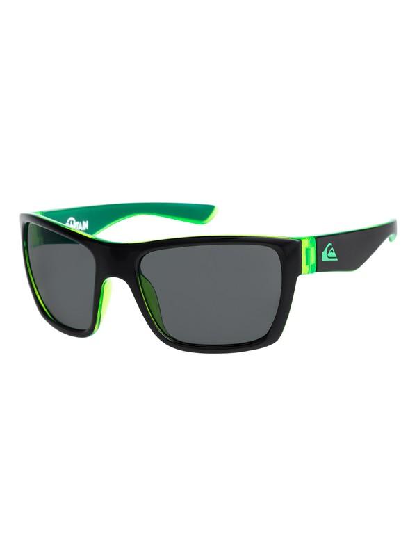 0 Captain - Gafas de Sol para Chicos 3-7 Negro EQBEY03003 Quiksilver