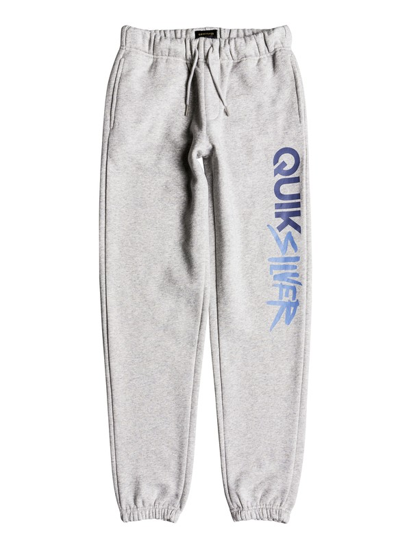 0 Boy's 8-16 Trackpant Screen Sweatpants Grey EQBFB03068 Quiksilver