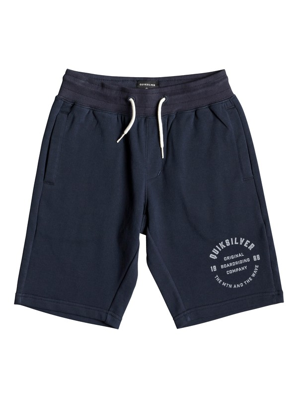 0 Everyday - Sweat Shorts for Boys 8-16 Blue EQBFB03072 Quiksilver