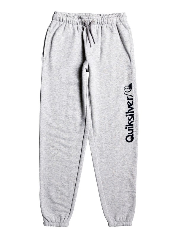 0 Boy's 8-16 Trackpant Sweatpants Grey EQBFB03084 Quiksilver