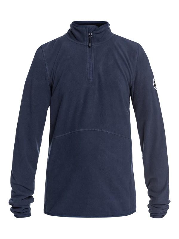 0 Aker - Technical Half-Zip Fleece for Boys 8-16 Blue EQBFT03439 Quiksilver