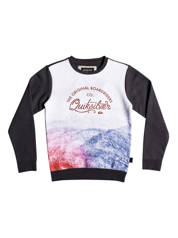 0 Lost In The Mountain - Sudadera para Chicos 8-16 Negro EQBFT03457 Quiksilver