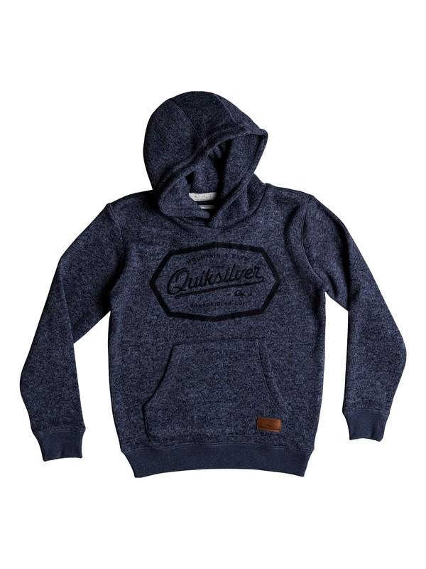 0 Keller - Polar fleece hoodie voor Jongens 8-16 Blue EQBFT03461 Quiksilver