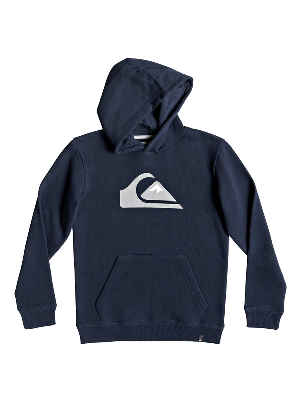 0 Big Logo - Hoodie für Jungen 8-16 Blau EQBFT03468 Quiksilver
