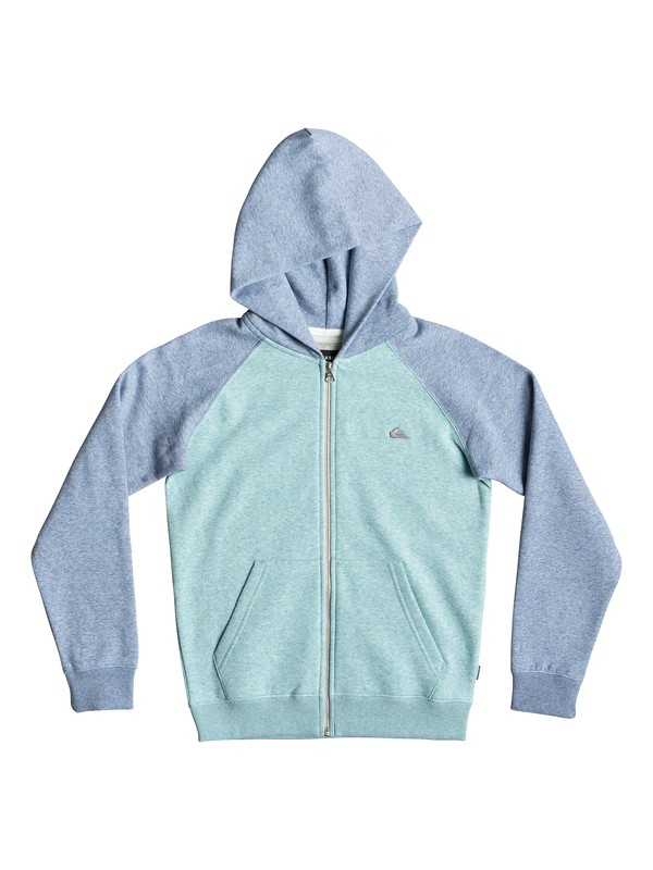 0 Everyday - Zip-Up Hoodie Blue EQBFT03472 Quiksilver