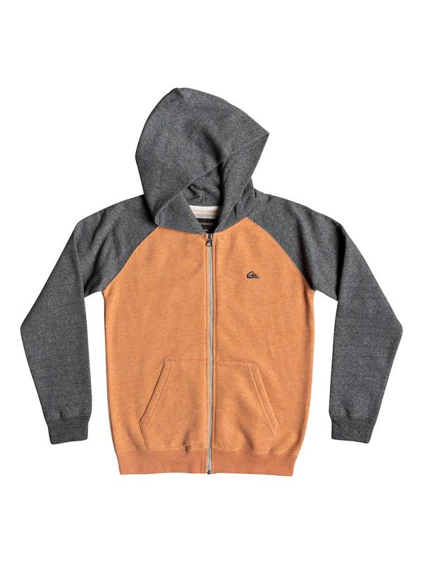 0 Детская толстовка на молнии Everyday Оранжевый EQBFT03472 Quiksilver