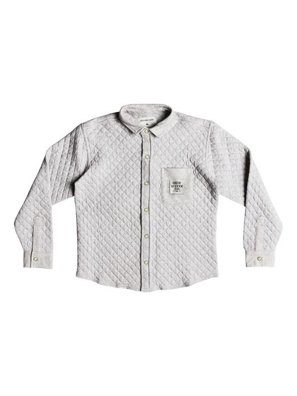 0 Kaawa - Long Sleeve Shirt for Boys 8-16 Grey EQBFT03478 Quiksilver
