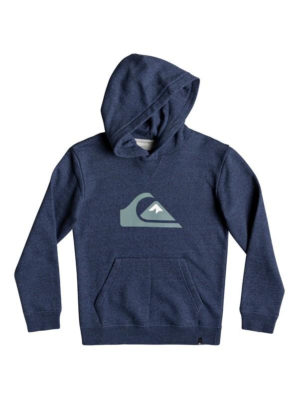 0 Big Logo - Hoodie for Boys 8-16 Blue EQBFT03493 Quiksilver