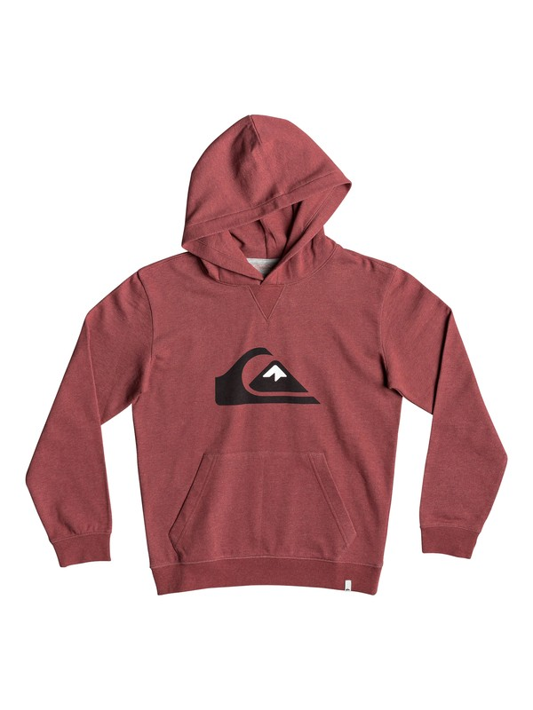 0 Big Logo - Hoodie for Boys 8-16 Red EQBFT03493 Quiksilver
