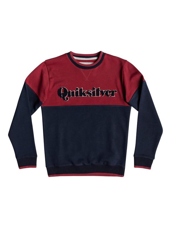 0 Детский свитшот Power Slash Красный EQBFT03496 Quiksilver