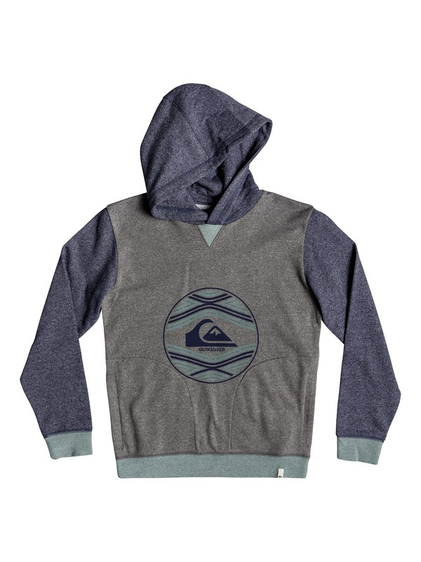 0 Project Planet - Hoodie for Boys 8-16 Blue EQBFT03499 Quiksilver