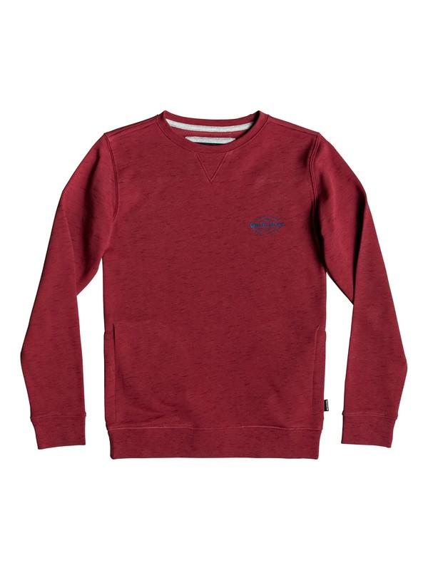 0 Felicis - Sweatshirt for Boys 8-16 Red EQBFT03507 Quiksilver